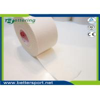 China Microporous glue Rigid Rayon Sports Strapping Tape 3.8cm x 13.7m white colour wholesale