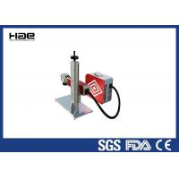 China Air Cooled Small Laser Marking Machine On Wood , Glass , Rubber , Plastics  , Cardboard on sale