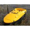 China Yellow rc fishing bait boat DEVC-113 remote range 350m fishing tackles wholesale