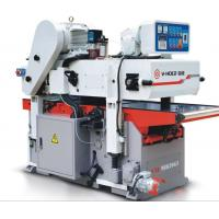 China High Efficient  2 Sided Planer , Industrial Wood Planer Woodworking Equipment wholesale