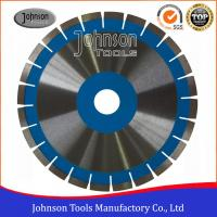 China 350mm Diamond Cutting Disc , Diamond Saw Blade For Cutting Granite  wholesale