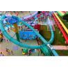 China Water Amusement Park Aqua Loop Spiral Tube Fiberglass Water Slide For Adult wholesale