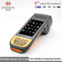 Buy cheap Android Handheld PDA Industrial With Mobile Fingerprint Scanner Data Collection from wholesalers