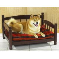 Buy cheap Dog beds Pet bed sofa, made in solid hardwood, rosewood color stained finish from wholesalers