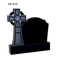 China Iceland style tombstone,  cross mounment wholesale