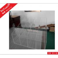 China Transparent Large Acrylic Holder Stand For Supermarket , Eco-Friendly wholesale