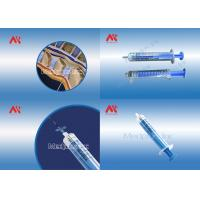 China 5ML 7ML 10ML  Loss Of  Resistance Syringe Luer Lock With Resicles wholesale