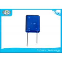 China Full Enclosed Farad Power Capacitor , Blue 1F 5.5 V Supercapacitor For Ammeter wholesale