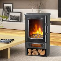 China Freestanding Electric Stove patented LED flame ND-183 China manufacturer fireplace heater best sales wholesale
