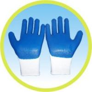China Palm Coated Cotton Glove on sale