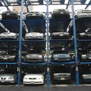 storage parking system for parking 12 cars