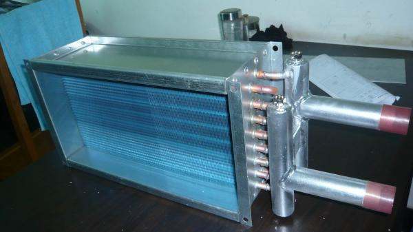 Copper Coil Heat Exchanger Images