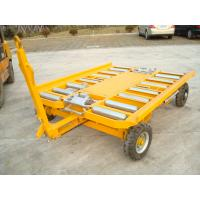 Flexible Container Pallet Dolly Customize Color Loading / Unloading Function