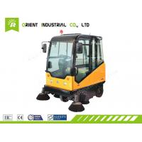 China E800LC effective automatic sweeper airport runway sweeper on sale