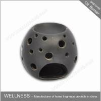 China Beautiful Design Ceramic Fragrance Oil Burner Egg Shaped , Pattern Exposure wholesale