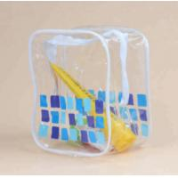 China Fashion Heat Resistant Clear Vinyl Toiletry Bag For Packing Gifts wholesale