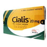 Quality Cialis Tablets 20mg Film Coated Tablets Tadalafil With 4 Tablets Per Box for sale