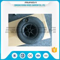China No Axle Pneumatic Wheelbarrow Wheels Puncture Resistant PVC 230mm*115mm wholesale