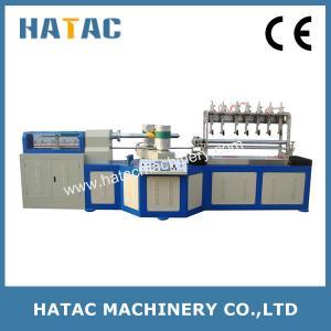 China Multi-blade Bond Paper Core Making Machine,High Speed ATM Paper Tube Cutting Machinery,Paper Straw Making Machine wholesale