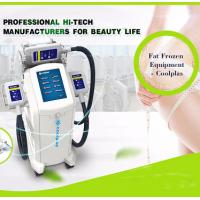 China Cool Shaping Cryolipolysis Fat Freezing Machine Multi Language Floor Standing on sale