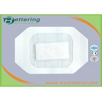 Medical Care PU Film IV Wound Dressing With Absorbent Pad And CCK Paper Frame