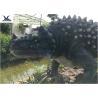 China Artificial Animatronic Dinosaur Lawn Decorations For Amusement Theme Park wholesale