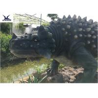 China Artificial Animatronic Dinosaur Lawn Statue For Outdoor Amusement Theme Park wholesale