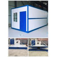 China Fire Proof Prefabricated Container House Foldable Container House Colorful Painting wholesale