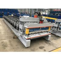 Buy cheap High Rib Glazed Metal Roof Sheet Making Machine With 8m / Min Processing Speed from wholesalers