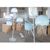 China Metal Decorations Crafts Customized Size Handmade Metal Jellyfish Statue wholesale