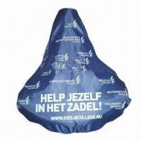 China Bicycle seat cover, measures 27x25cm wholesale