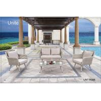 UV Protection Deep Seating Patio Table And Chairs 4 PCS For Conversation