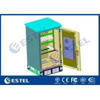 Buy cheap Double Wall Outdoor Power Cabinet With One Battery Shelf 15U Rack Air Conditione from wholesalers