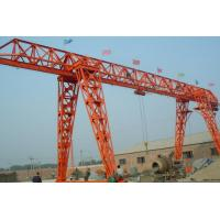 China Industrial Hoist Lifting Equipment 5 ton Electric Bridge Gantry Crane Safety wholesale