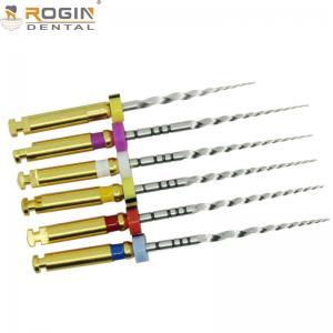 China 150 - 350rmp Speed Rotary Files Endodontics Progressive Taper For Engine wholesale