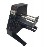 China 3W Automatic Label Dispenser Machine Black Color 250mm Diameter For Packaging wholesale
