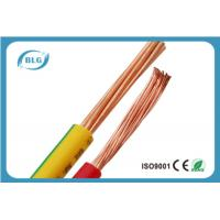 China Custom Made Flexible Insulated Copper Wire With Single Core Wear Resistant wholesale