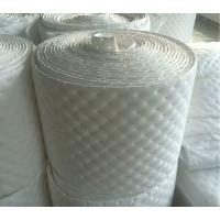 China Adhesive 18mm White Fibre Cotton Acoustic Foam Soundproof For Car Noise Reduce on sale