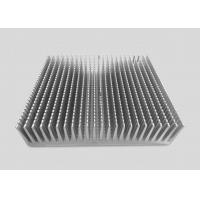 China 16CM Height Precision CNC Machining Services Aluminum Alloy Heat Sinks 25CM Square Shaped wholesale