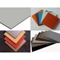 China Outdoor Aluminum Composite Panel For Interior and Exterior Walls , Ceilings Decoration wholesale