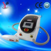 China Nd yag laser beauty machine for tattoo removal / Black doll wholesale