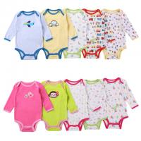 China Fashion Cute Newborn Baby Clothes Elegant Toddler Cotton Romper Super Soft wholesale