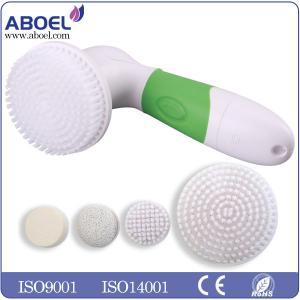 Buy cheap escova de limpeza facial elétrica da bateria de 4pcs AA para remover a cabeça from wholesalers