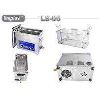 Commercial 6.5liter Oil Remove Circuit Board Ultrasonic Cleaning Machine