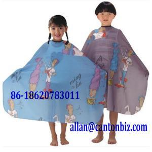 China Children Hair Cutting Apron wholesale