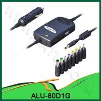 China Fashionable 80W Universal DC Power Adapter For Car Use ALU-80D1G wholesale