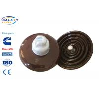 China Pollution Free Standard Disc Type Insulator , Overhead Line Insulators For High Voltage wholesale