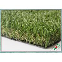 China Residential Area Garden Faux Artificial Grass Monofil PE + Curly PPE Material wholesale