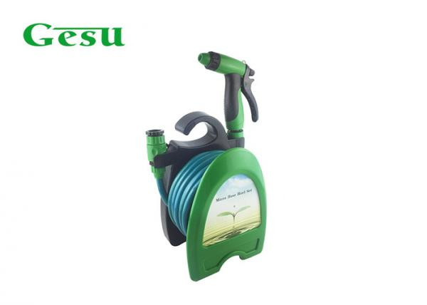 Quality Mini Garden Hose Reel Set With ABS Sprayer Gun , Hose Reel For Garden Hose for sale