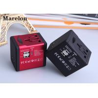 China Residential Commercial Travel Power Adapter Five Colors Option Plug With Socket wholesale